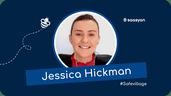 Jessica Hickman on the Saasyan #SafeVillage