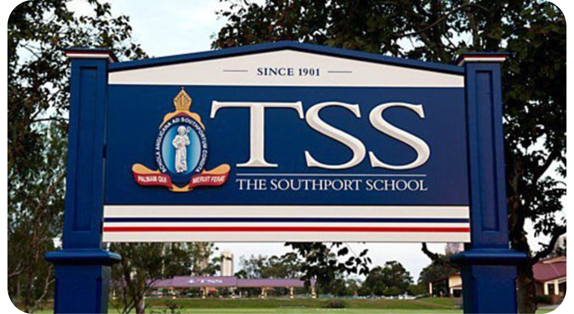 The Southport School Sign