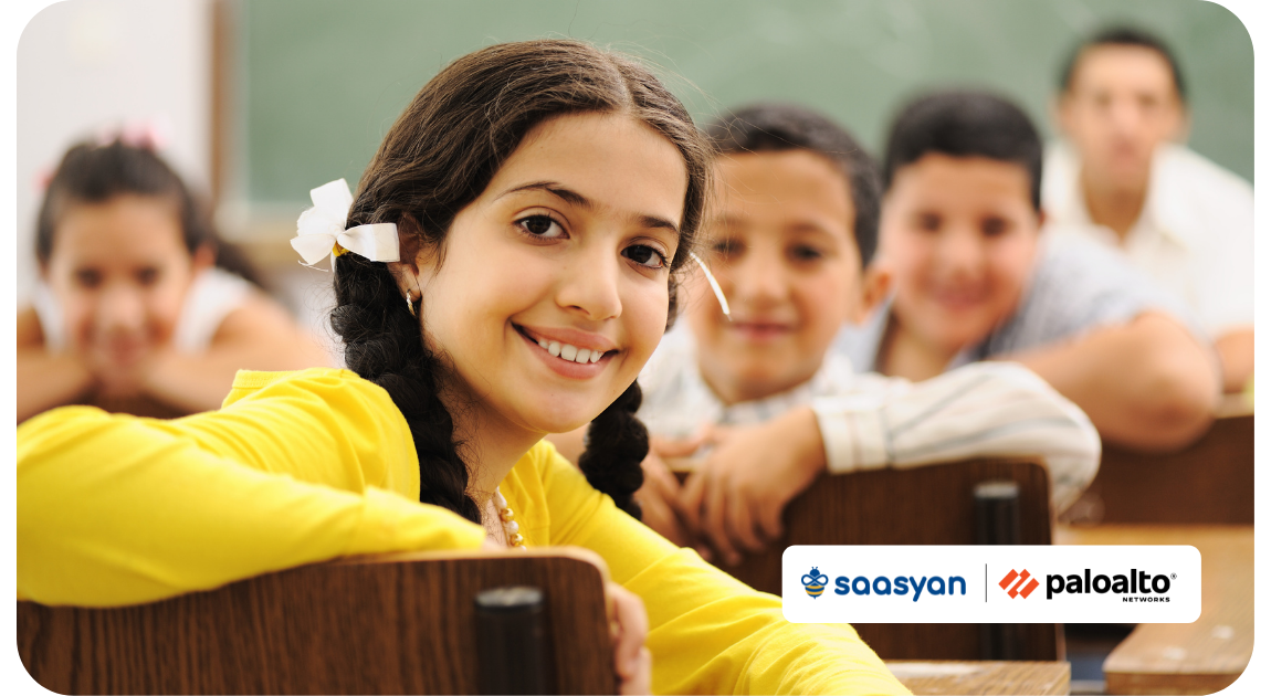 Saasyan And Palo Alto Networks Firewall protecting schools together
